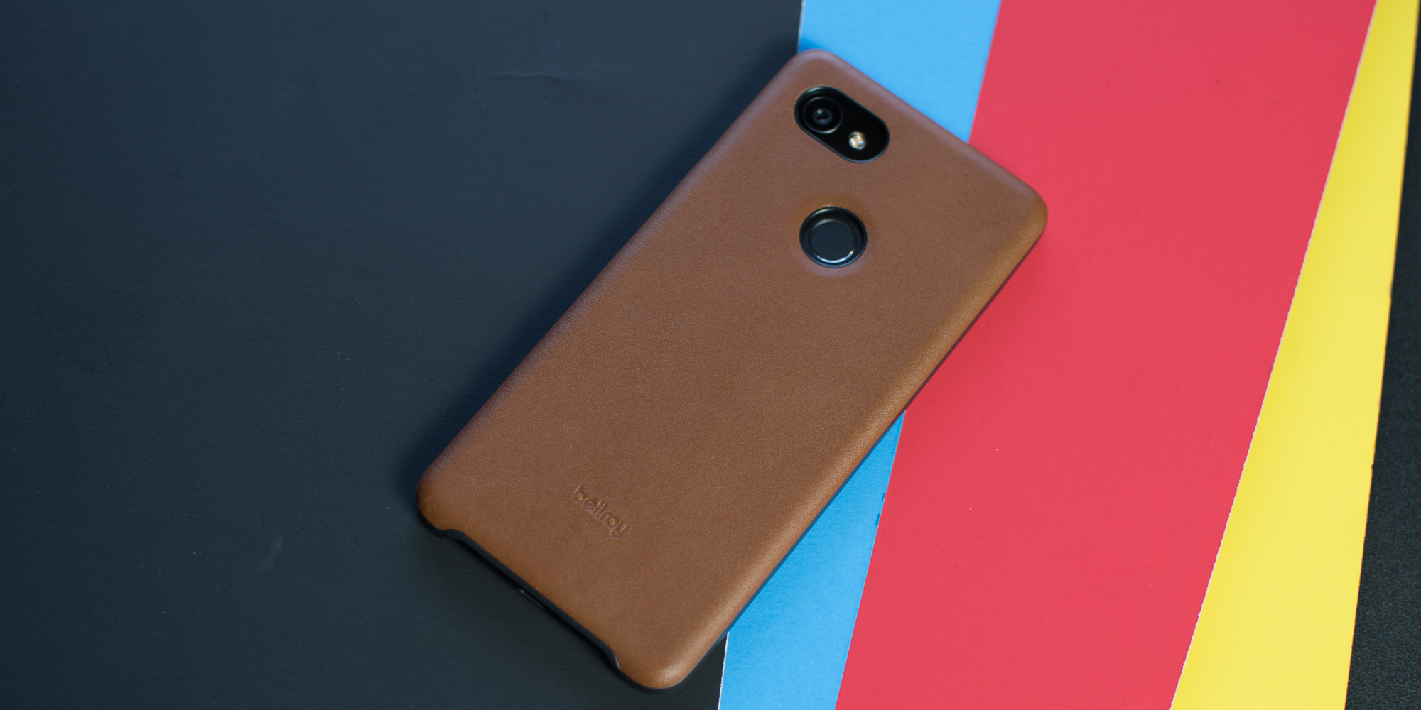 san francisco 370a0 cfccf Review: Bellroy's Made for Google leather case for the Google Pixel ...
