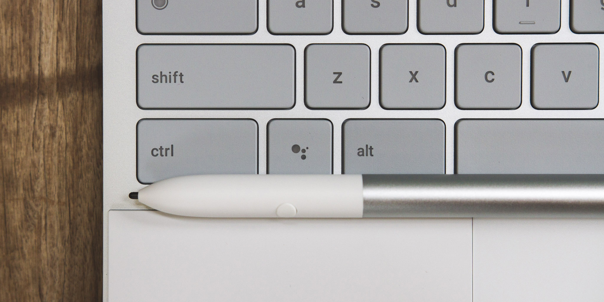 Google Pixelbook with a Google Assistant Key