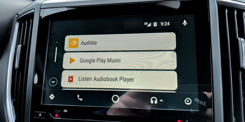 Android Auto Rounded Icons