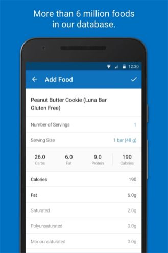 Calorie Counter - MyFitnessPal - Android Apps on Google Play 2018-01-01 13-40-19