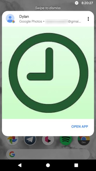 Google Photos App Preview Messages 3