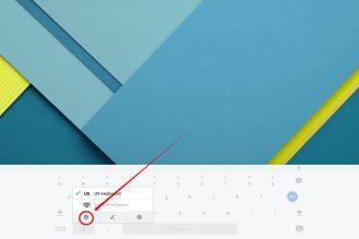 Chrome OS using Emoji 9