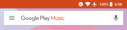 google-play-music-search-bar