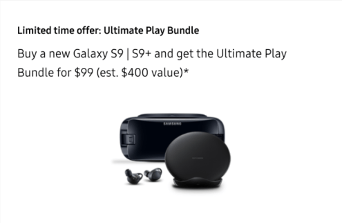 Samsung Galaxy S9 Accessory Bundle