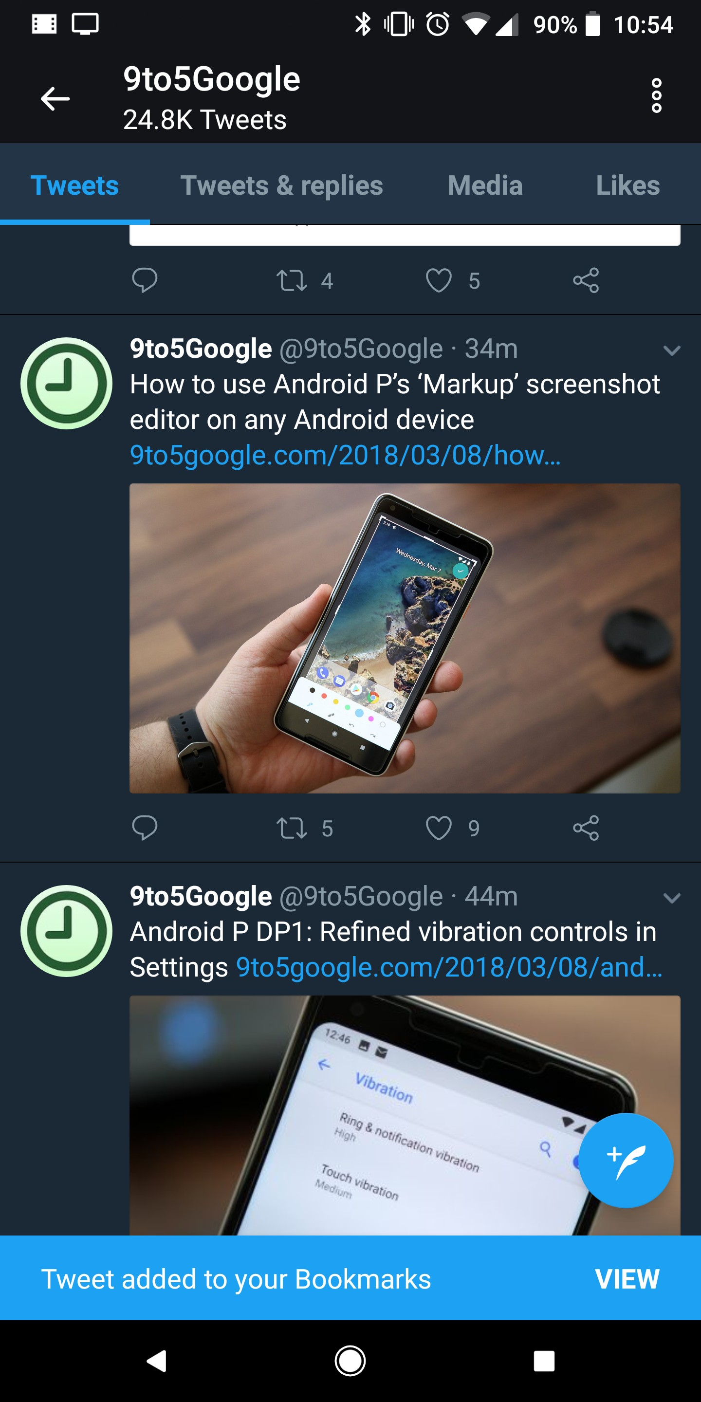 How to use Twitter bookmarks on Android - 9to5Google