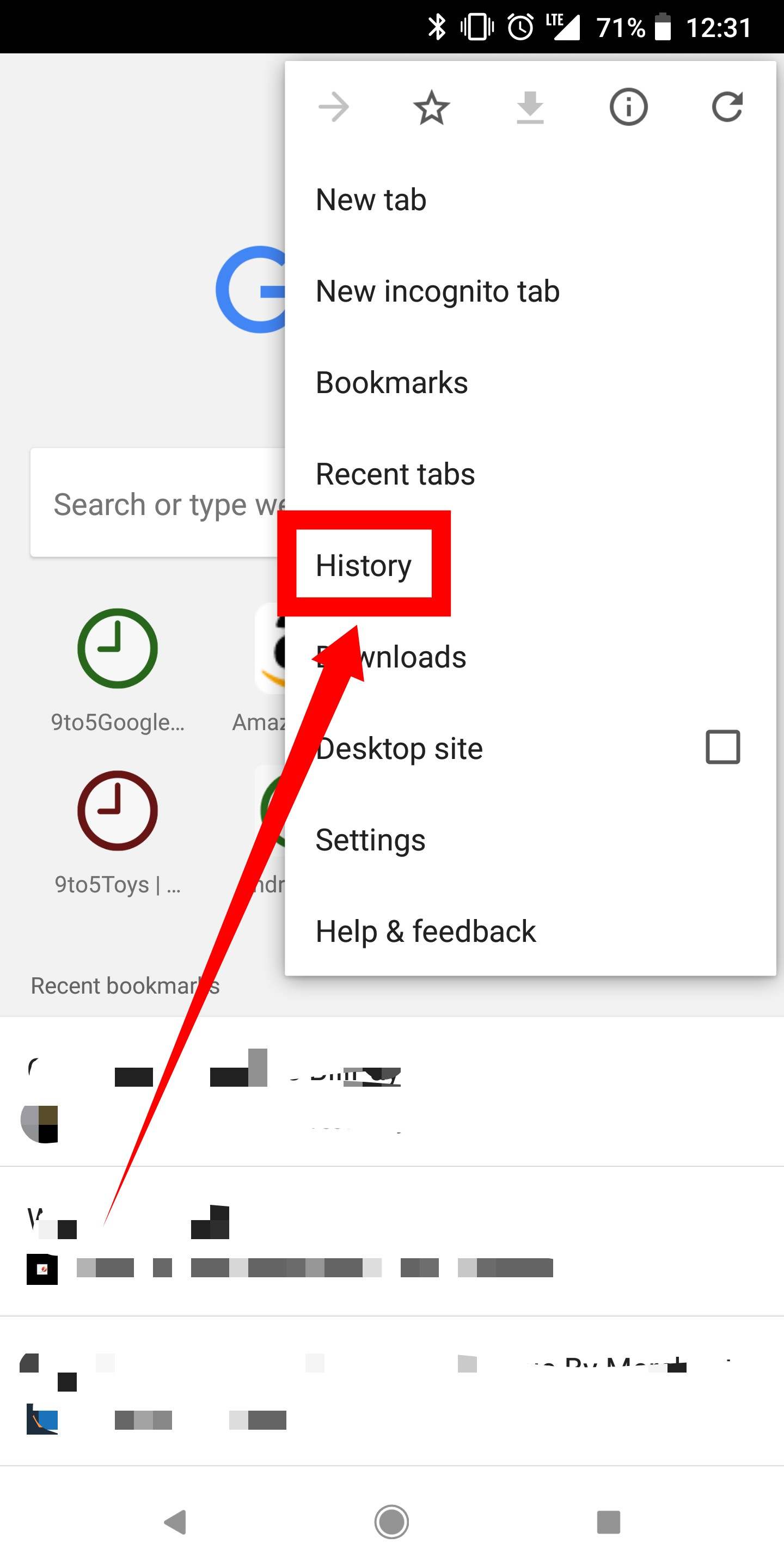 How to delete your Google Chrome browser history on