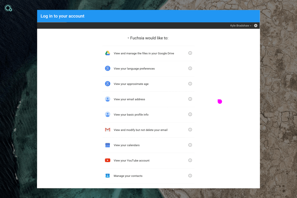 fuchsia-google-account-permissions