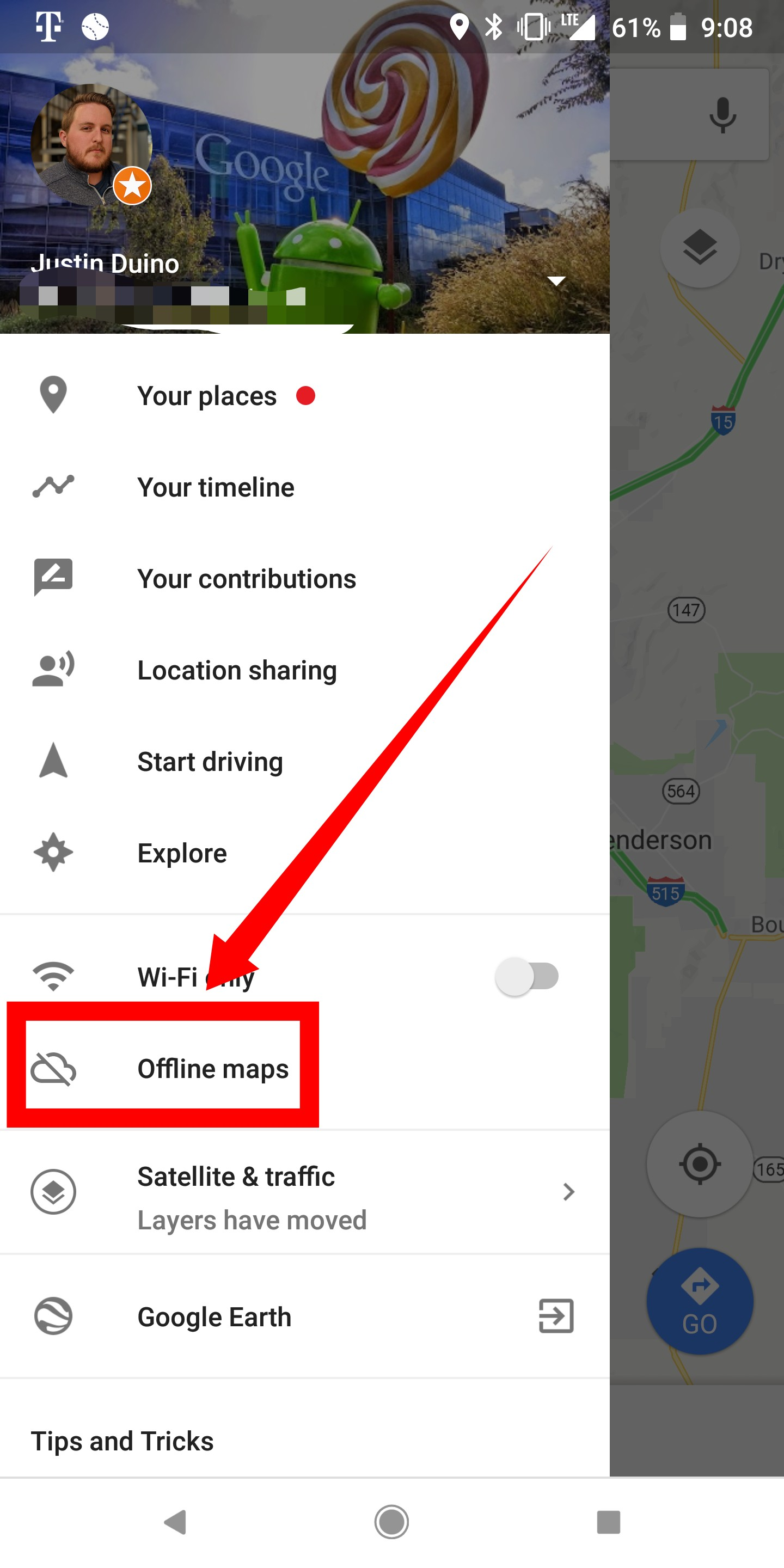 How to use Google Maps offline on Android - 9to5Google Download Map Offline Android on plex android, gps android, google maps android, iphone android, market android, apps android,