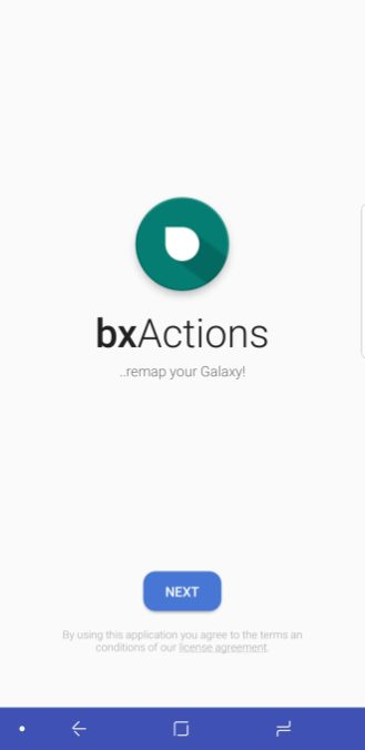 bxActions Samsung Galaxy S9