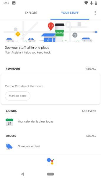Your stuff