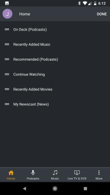 Plex Android 5