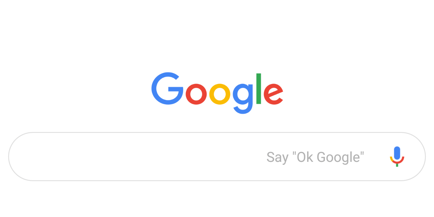 Google App Testing Material Theme Search Bar, Expands