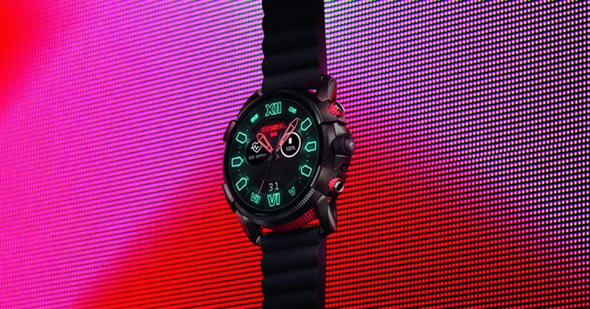 Diesel Full Guard 2.5 is a massive Wear OS watch w/ 2-day battery [Update]
