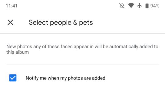 Google Photos 4.3 Live Albums