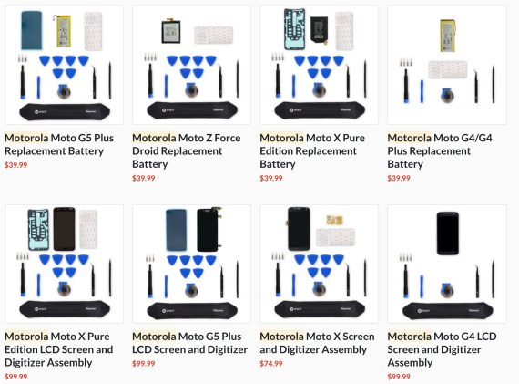 Motorola iFixit repair kit