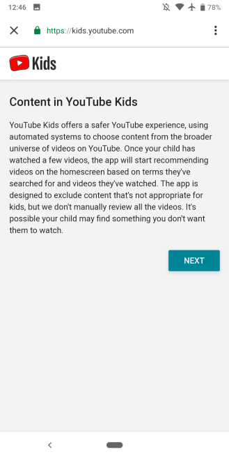 YouTube Kids Google Home