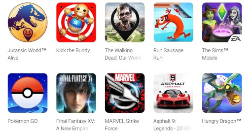 Can I Run Pubg Unique Pubg Mobile Apps On Google Play: Google Play Best Of 2018 Awards Includes Fan Favorites