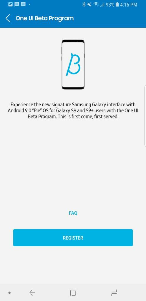 galaxy s9 android pie