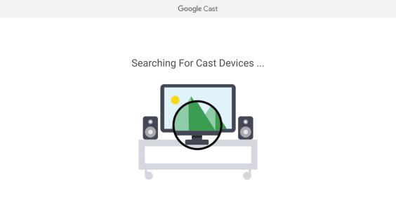 Chrome 72 eliminando a configuração do Chromecast