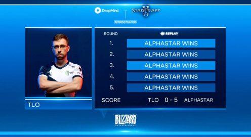 DeepMind AlphaStar wins StarCraft II