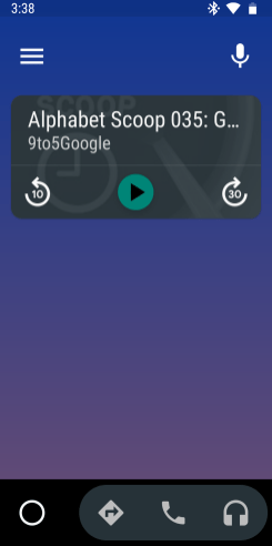 Google Podcasts Android Auto-7