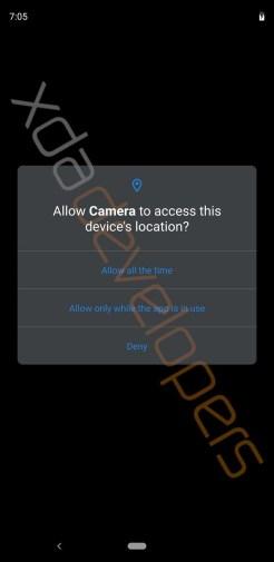 Android Q leak