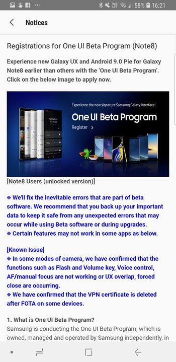 galaxy-note-8-one-ui-beta-program-screens