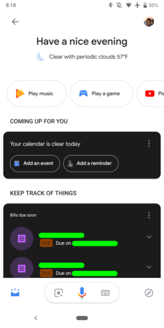 Google app 9.5