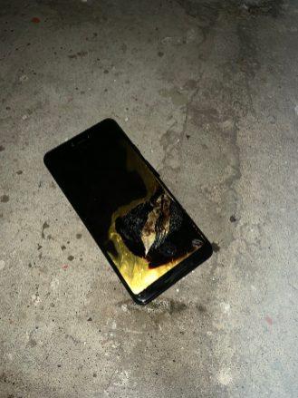 Pixel 3 XL Fire