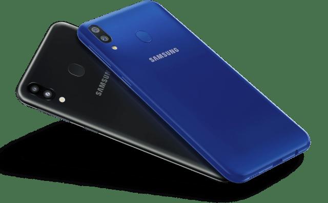 Samsung Galaxy M20 colors