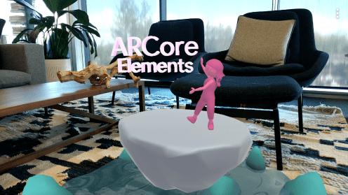 """ARCore 1.7 fügt die Augmented Faces-API für AR-Selfies hinzu, eine neue """"Elements"""" -App, die Design-Grundlagen behandelt"""