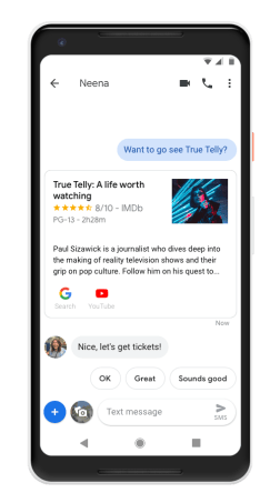 Google Assistant Messages Android