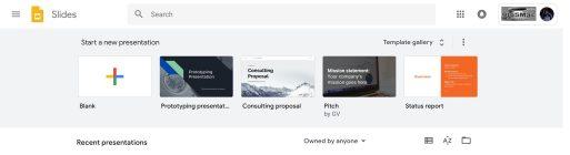 Google Slides Material Theme