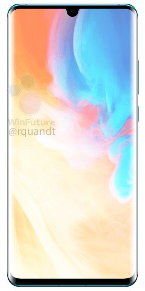 Huawei P30 Pro render