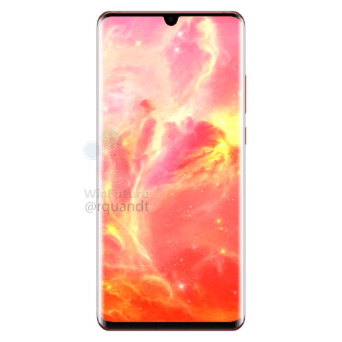 Huawei P30 Pro Sunrise red option (1)