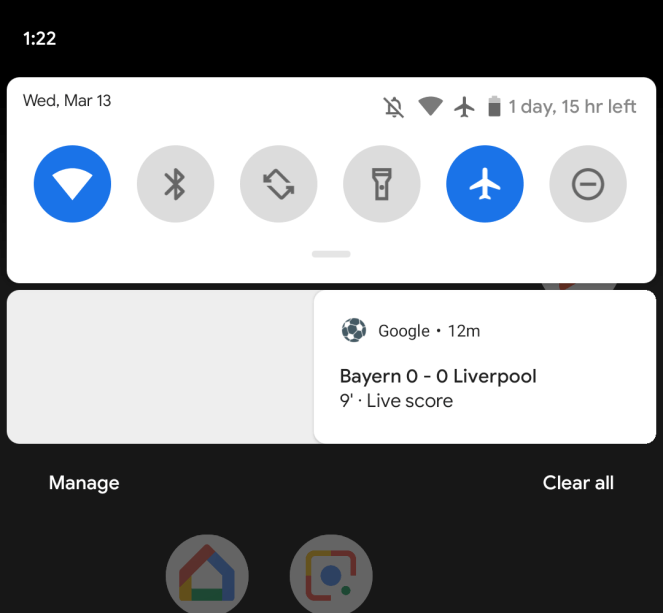 Android Q Beta 1 notifications