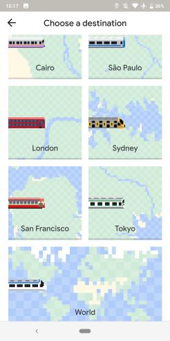 Google Maps April Fools 2019