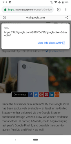 OLD: AMP in Search result