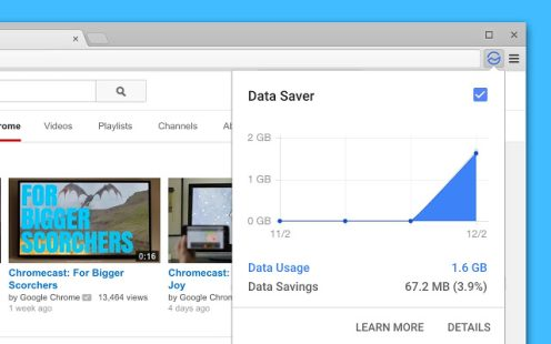 Google kills data saver extension