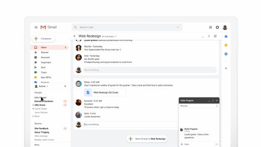 Hangouts Chat for Gmail