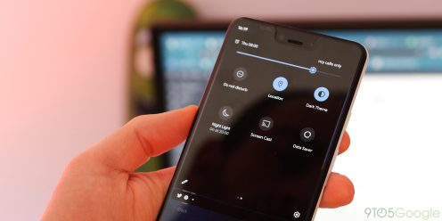 Android Q Beta Dark theme