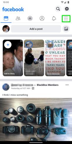 Facebook-Android-App-Homescreen