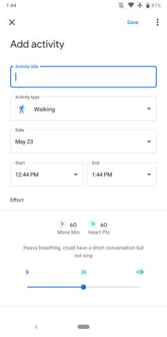 Google Fit 2.13
