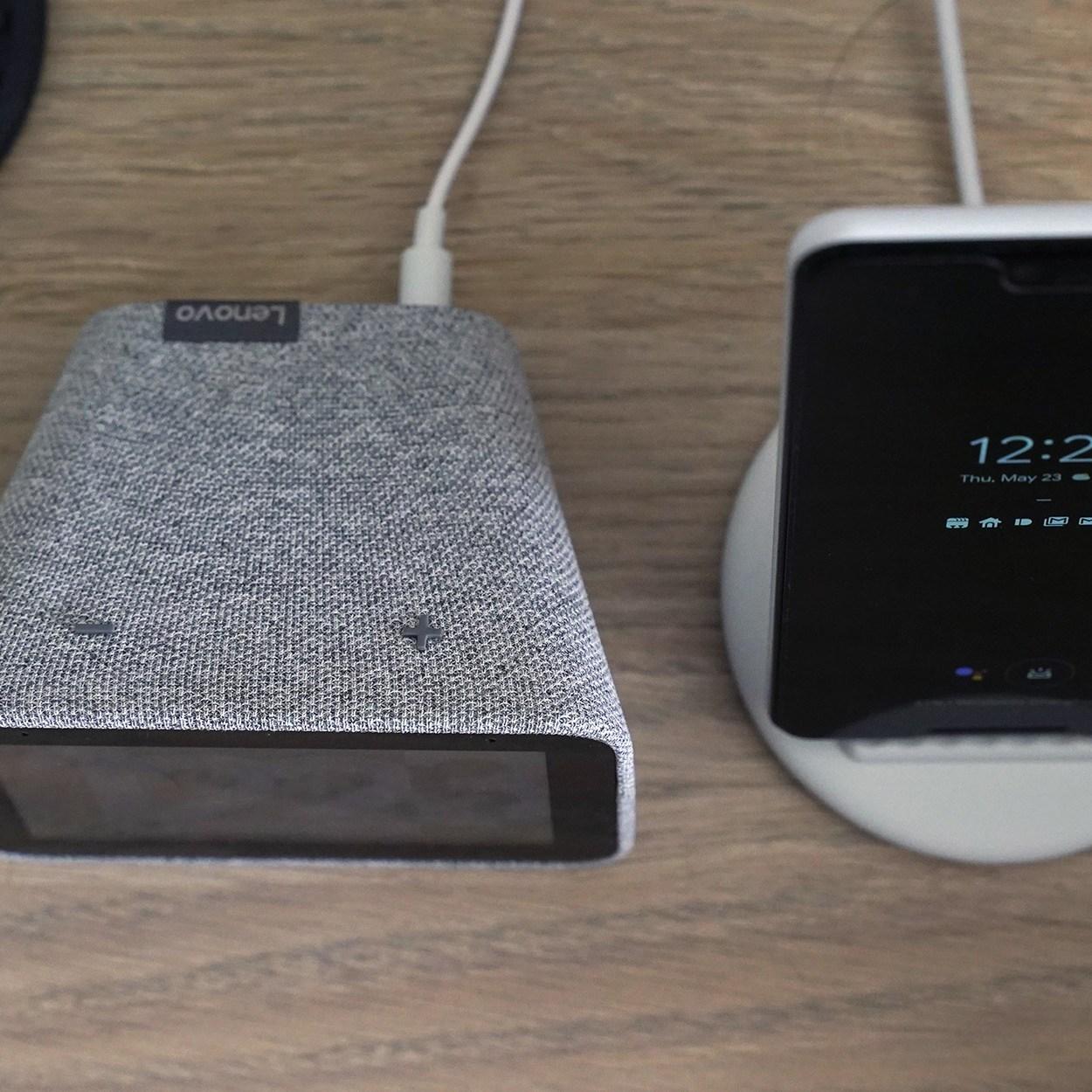lenovo smart clock pixel stand