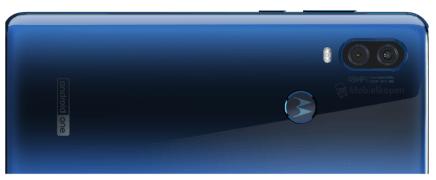 Motorola One Vision rear