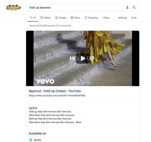 Google explains Search lyrics