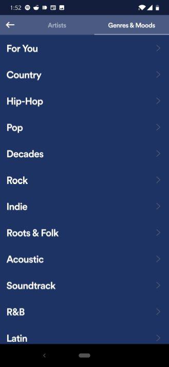 spotify stations add new