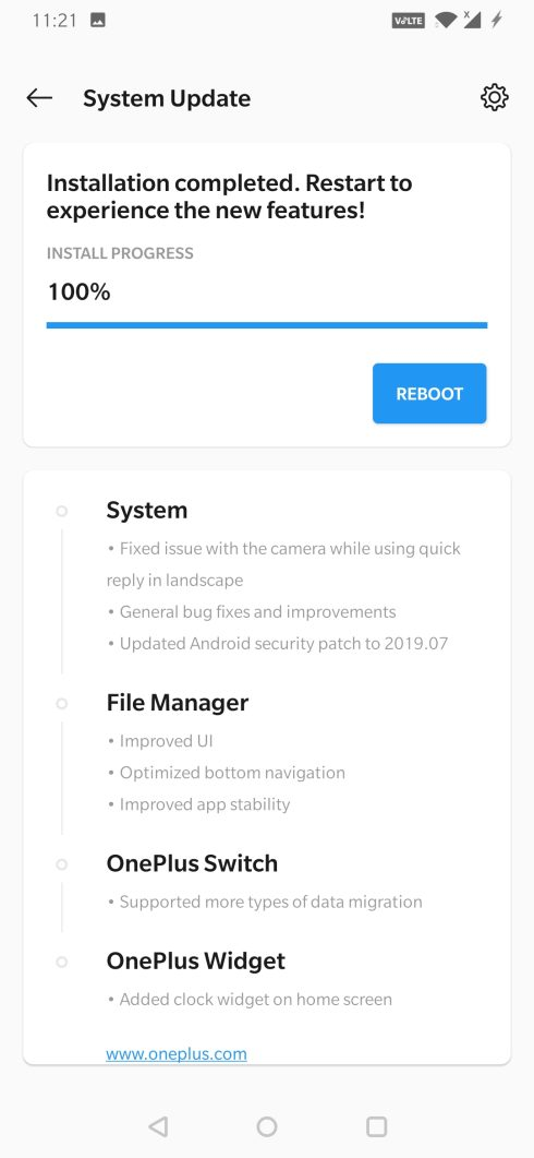 OxygenOS Open Beta 14 for OnePlus 6T