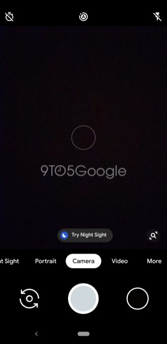 Google Camera Night Sight move