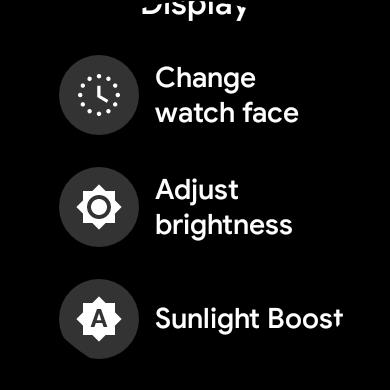 So deaktivieren Sie die automatische Helligkeit unter Wear OS